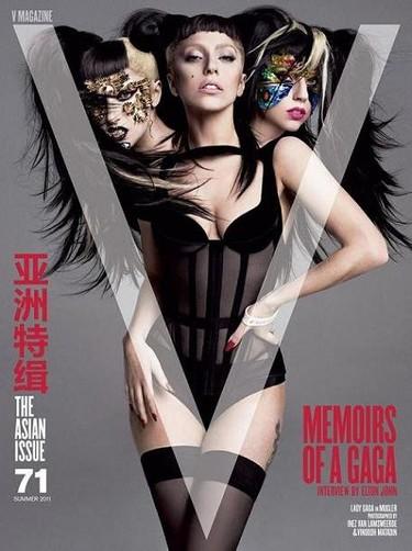 La Gaga vuelve a aparecer en V Magazine