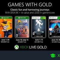 Juegos de Xbox Gold gratis para Xbox One y 360 de junio 2019