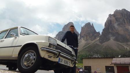 Viaje de Antonio en Renault Siete