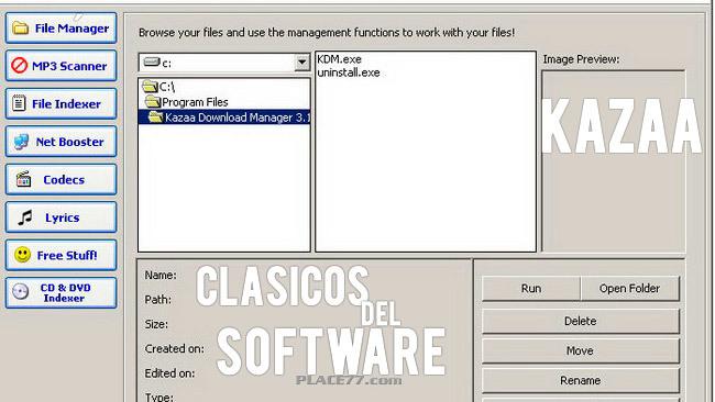 Clásicos del software Kazaa