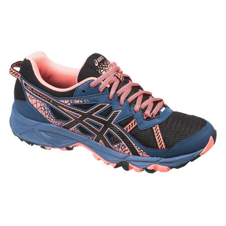 Asics Gel Kanaku Tm 3 Mujer Negro Zapatillas Trail Running