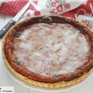 Flaó o pastel de queso, receta de postre tradicional de Ibiza
