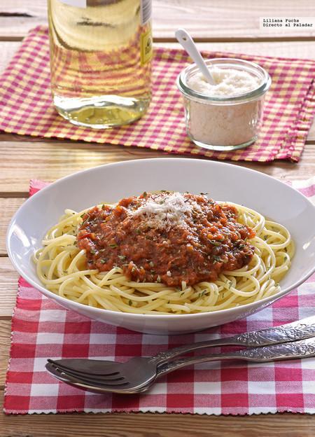 Receta de salsa de verduras para pasta