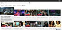 Espectaculares resultados de búsquedas musicales en Bing
