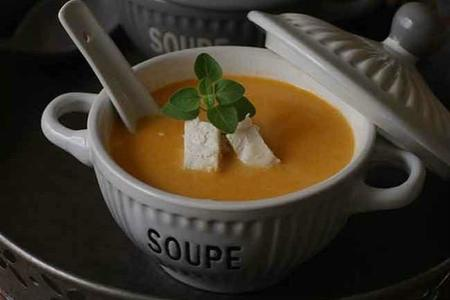 Cremas Sopa De Pollo Al Curry