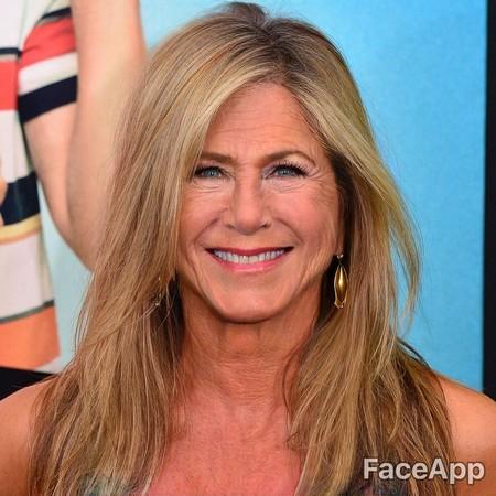 Faceapp Jennifer Aniston