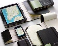 Smartphone Cover y Tablet Cover de Moleskine, fundas para iPhone y iPad con libreta de notas incluida
