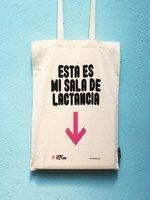 La bolsa 'Esta es mi sala de lactancia' puede ser tuya