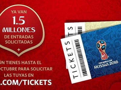 Así puedes comprar entradas para ver los partidos de Colombia en Rusia 2018