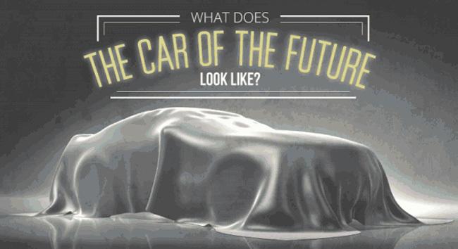 Infografía coche del futuro