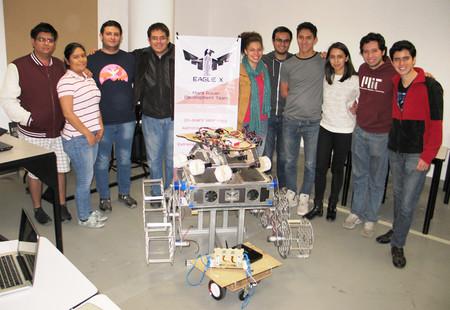 Estudiantes mexicanos crean robot aeroespacial que participará en un concurso de la NASA