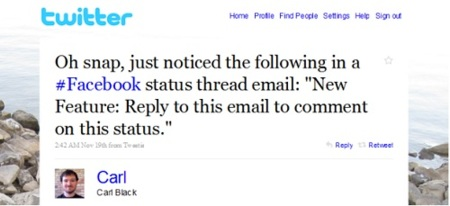 Pronto podremos hacer comentarios en Facebook vía correo electrónico