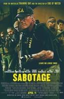 'Sabotage', tráiler final y cartel definitivo de los 'Diez negritos' de Arnold Schwarzenegger