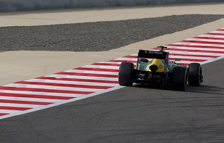 Caterham nos resume su particular filming day en Magny-Cours