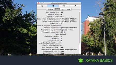 Qué son y cómo borrar los metadatos de una foto en Mac