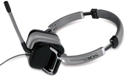 Auriculares con micrófono oficiales para la Nintendo 3DS