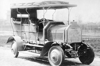 1907 Daimler Dernburg-Wagen, el abuelo de los SUV's