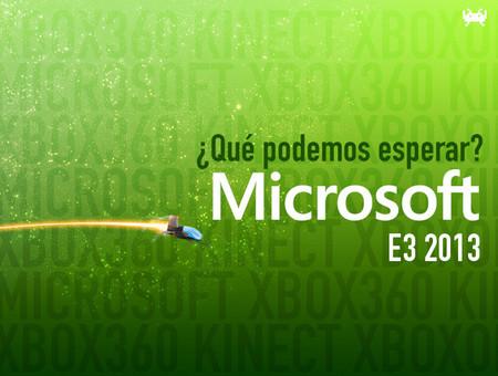 Qué podemos esperar de Microsoft en el E3 2013
