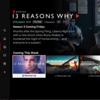 Netflix actualiza su aplicación de TV para mostrar sus próximos lanzamientos, como en el cine