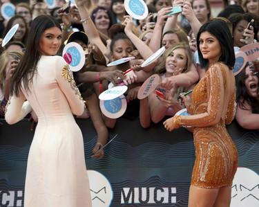 Cuando se trata de lucir pierna Kendall Jenner es la experta de la alfombra roja