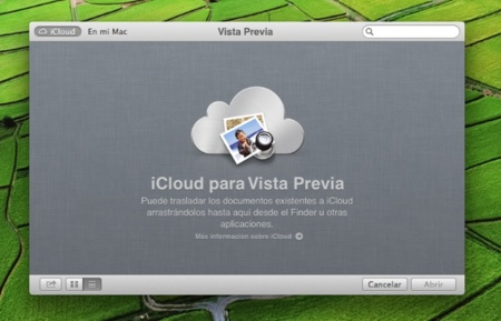apple os x mountain lion vista previa icloud