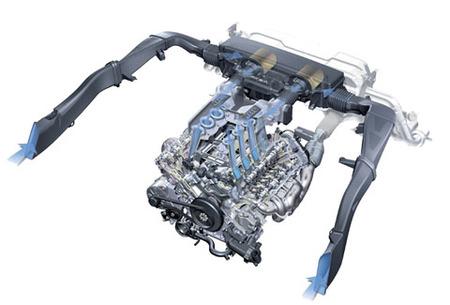 Audi R8 - Motor 4.2 V8 FSI