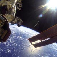 Llevando una cámara GoPro a la Estación Espacial Internacional