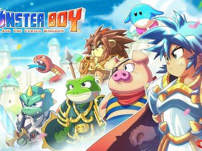 La versión para Nintendo Switch de Monster Boy and the Cursed Kingdom se muestra en un breve gameplay