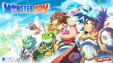 La versión para Nintendo Switch de Monster Boy and the Cursed Kingdom se muestra en un breve gameplay