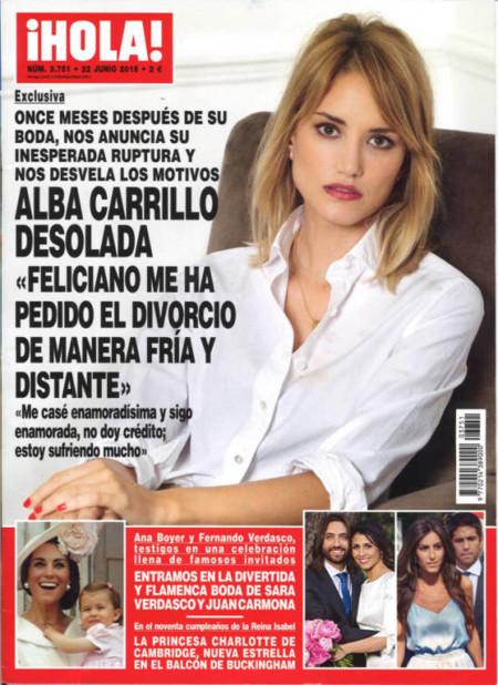 El dramón de Alba Carrillo y Feliciano López