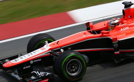 Marussia, con el ánimo subido gracias a Jules Bianchi