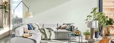 ¿Te animas a pintar la casa en invierno? Amanecer Tranquilo un tono mezcla de verdes, azules y grises es el favorito de los expertos de Bruguer para recibir el 2020