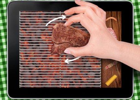 Invita a tus amigos a una barbacoa dominguera desde tu iPad