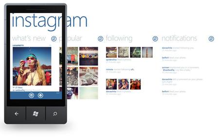 Instagram podría llegar a Windows Phone en conjunto con el Nokia Lumia 928