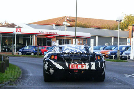 McLaren P11 Spy Shots