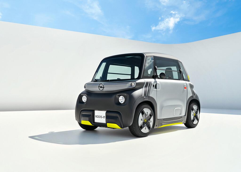 Opel Rocks-e: el vehículo eléctrico para movilidad urbana de Opel es clavado al Citroën Ami