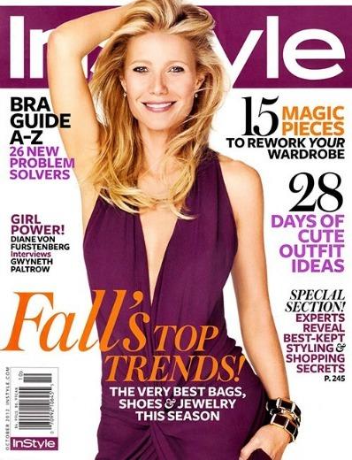 Gwyneth Paltrow, ideal como siempre a juego con la cabecera