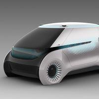 """Hyundai Mobis presenta un """"iluminador"""" coche autónomo, pensando en la seguridad de los peatones"""