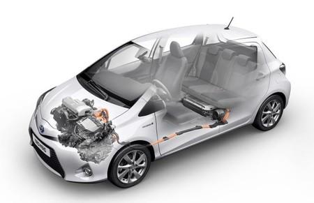 Prueba Toyota Yaris hybrid Motor y Bateria