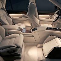 Volvo XC90 Lounge Console: tres asientos y mucha comodidad