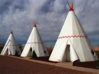 Un lugar para hacer el indio: Wigwam Motel