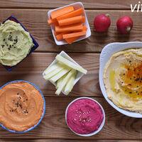 11 recetas de hummus diferentes y saludables que puedes degustar en el aperitivo