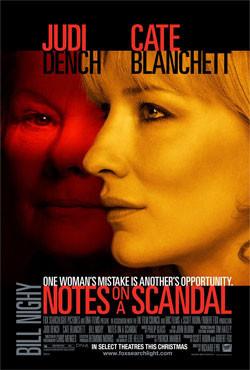 Diario de un Escándalo: el Oscar a la mejor actriz fue un robo