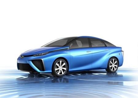 Toyota FVC perfil en el Salón de Tokio 2013