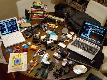 Imagen de la semana: una mochila de <em>gadgets</em>