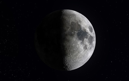 Esta increíble imagen de la Luna tiene 400 megapíxeles y consta de más de un millón de fotos