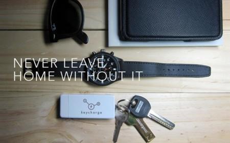 Keycharge es una batería de bolsillo con 32 GB de memoria extra para tu smartphone