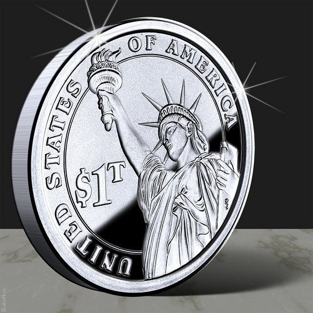 Moneda de un billón de dólares