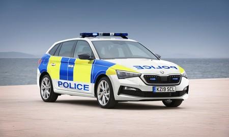 El Škoda Scala se suma al Škoda Kodiaq RS como coche de policía en Reino Unido