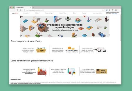 Amazon Pantry dice adiós en España el 30 de junio, pero sus productos más vendidos llegarán a Amazon
